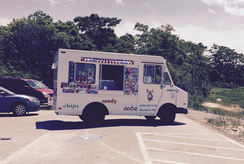 Camion de crème glacée Cape Cod