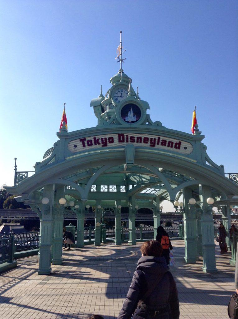 Entrée Tokyo Disneyland