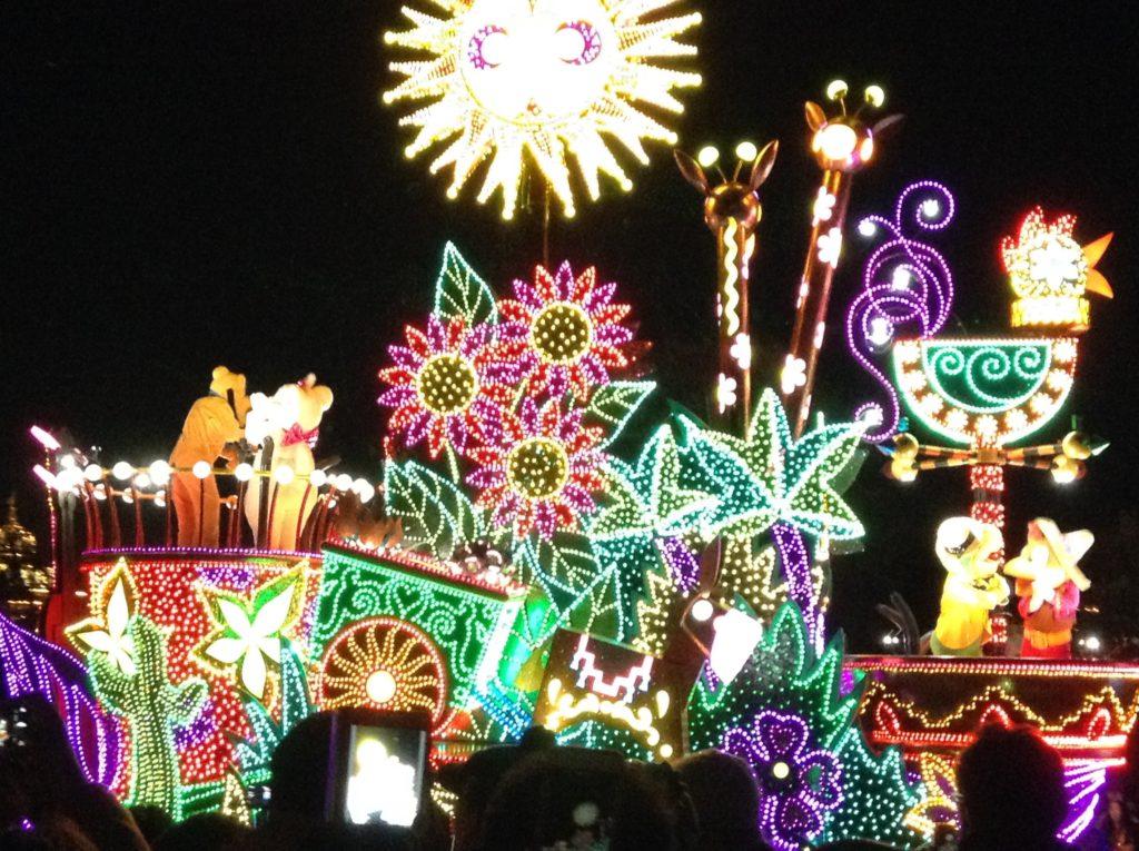Night parade Disney