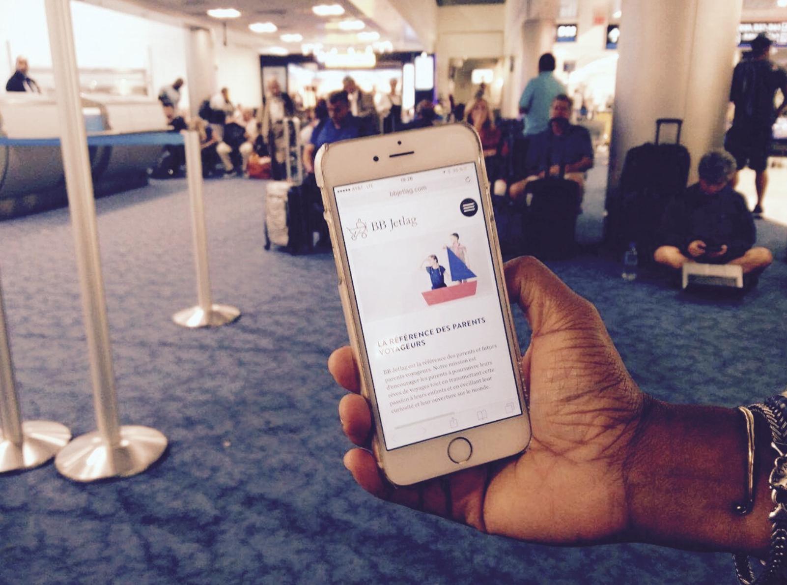 Gadget iPhone de voyage