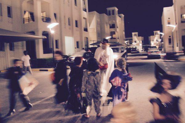 Halloween au Qatar
