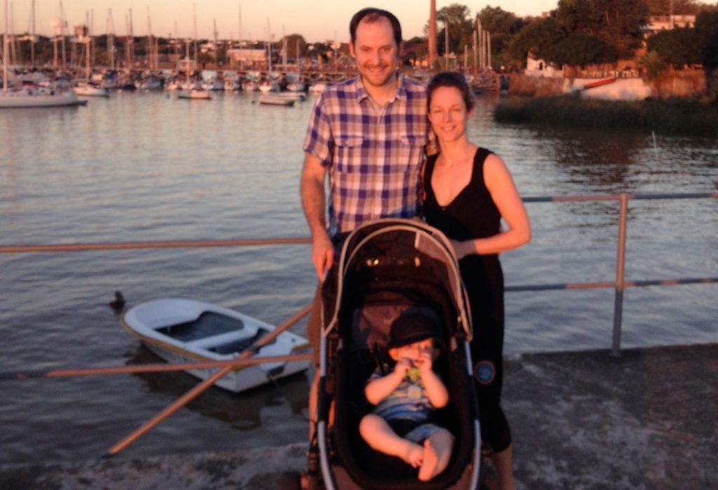 Philippe Jacques, Argentine en famille
