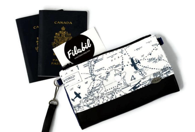 Portefeuille de voyage Filabil