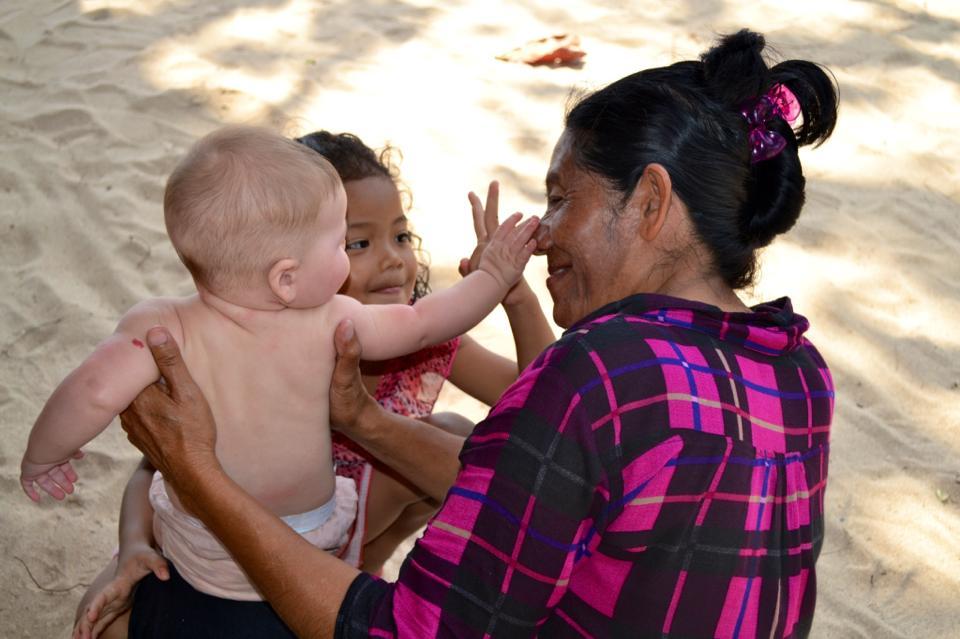 Voyager avec ses enfants à Bali