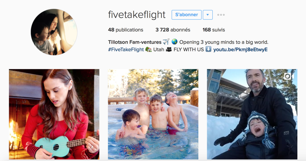 © Instagram @fivetakeflight