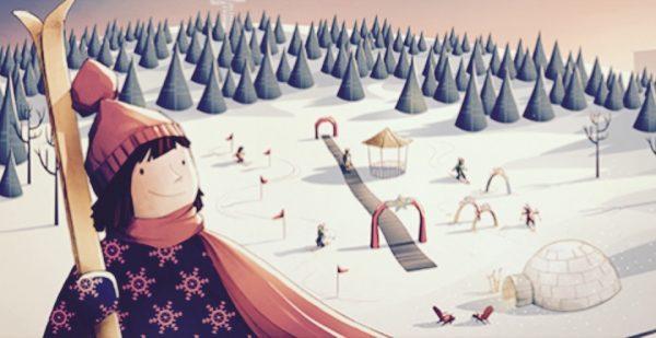 La Pente à neige