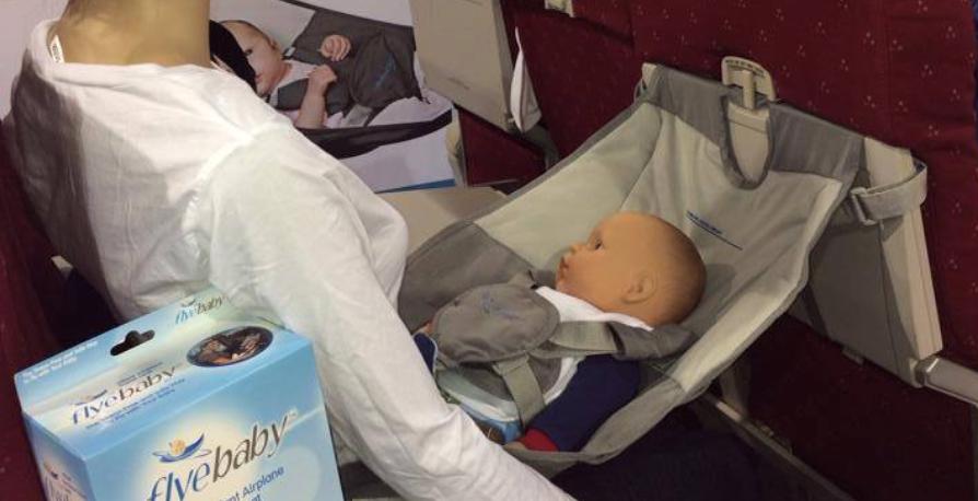 FlyeBaby, siège-hamac pour lit de bébé dans l'avion