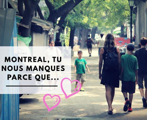 Voyager en famille avec enfant et bébé à Montréal