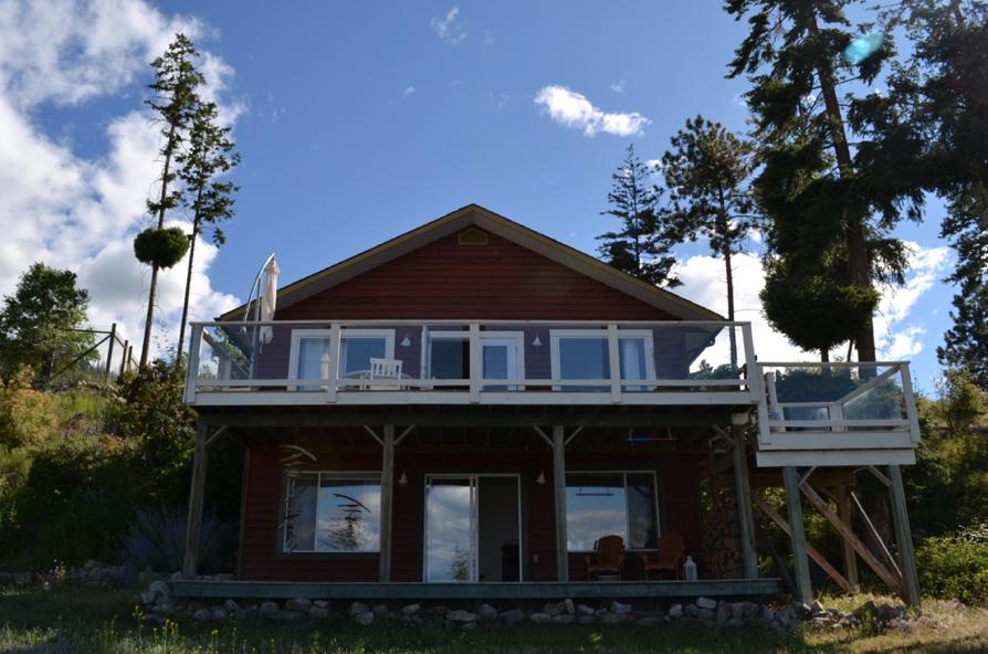 Maison louée à Kelowna © Amélie Racine