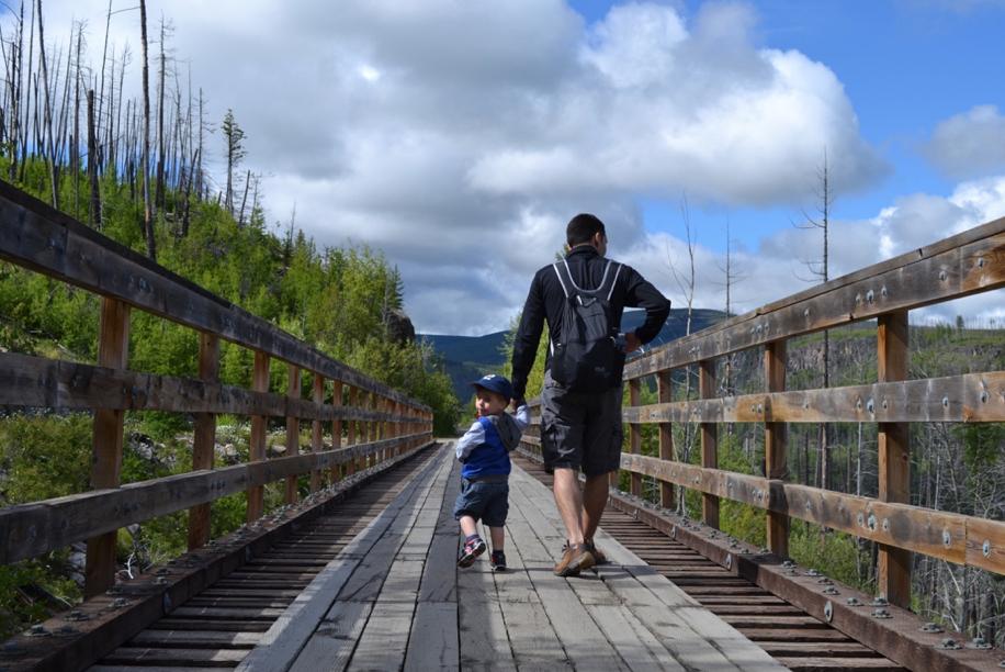 Kettle Valley Railway Trail © Amélie Racine