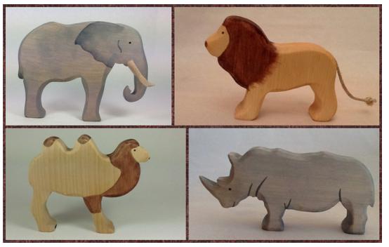 figurines en bois, Brin d'Bois