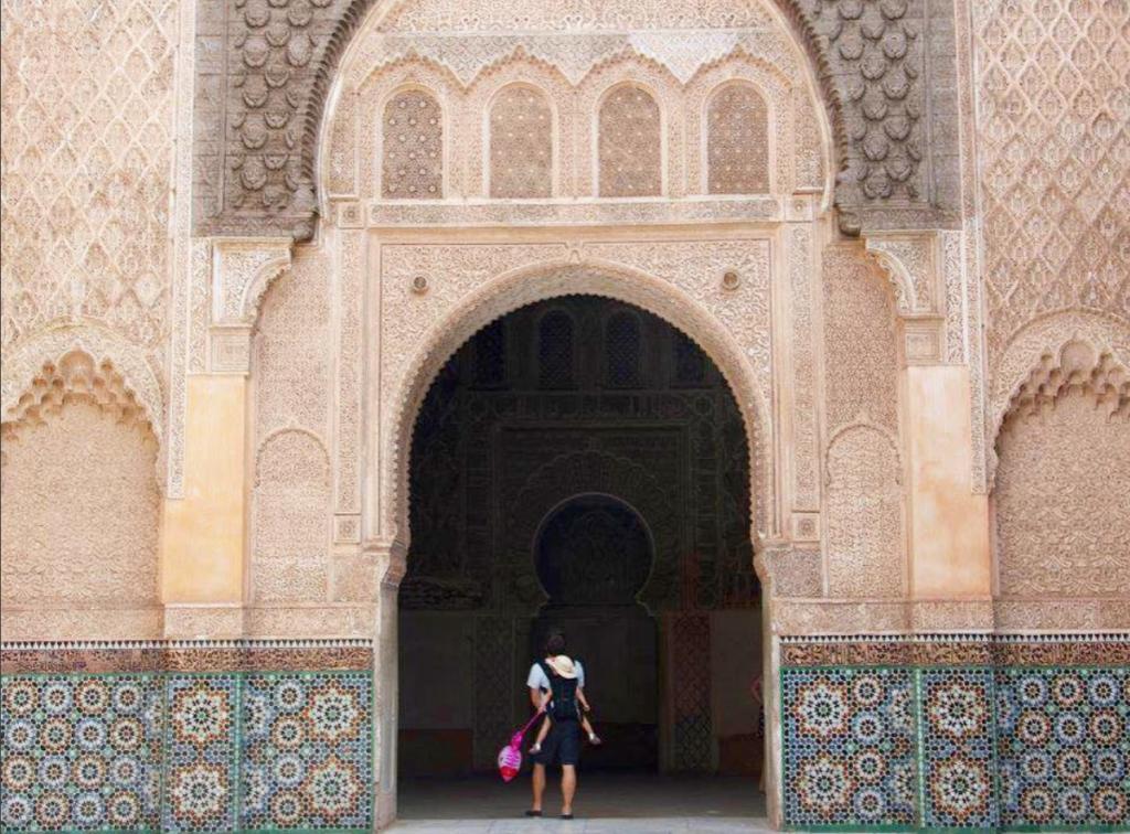 Marrakech Medersa Ben Youssef © Instagram de Elsa_clv