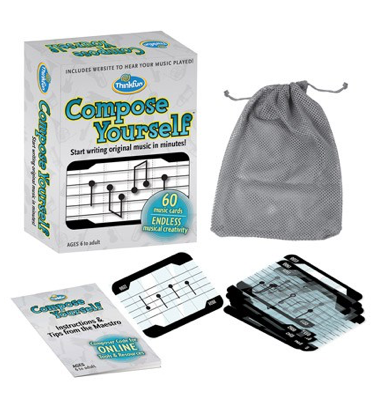 Jeu Compose Yourself de Thinkfun