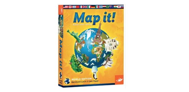 Jeu Map it! Monde © Foxgames