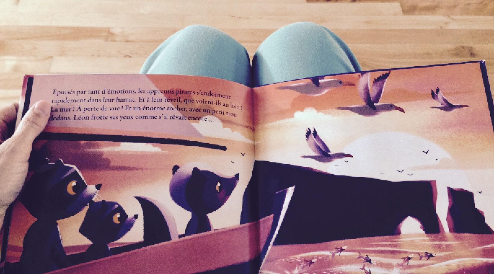 Léon le raton part découvrir la mer par Lucie Papineau