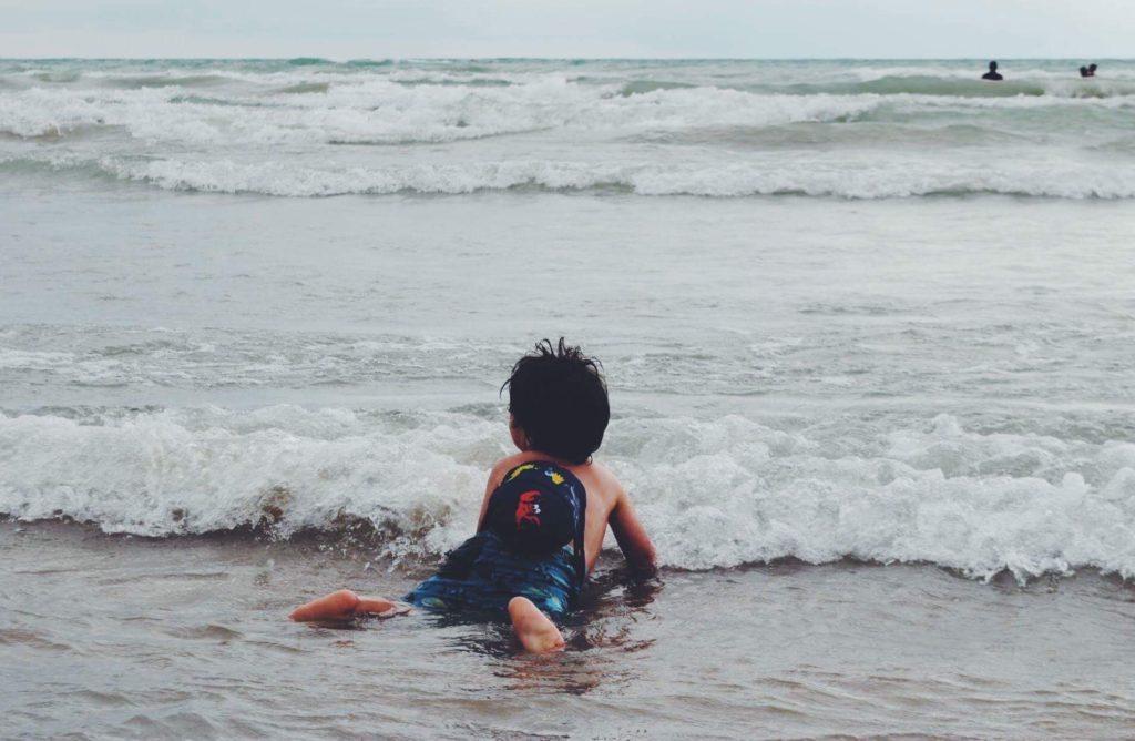 Plage de Outlet, Sandbanks en famille © Julie St-Pierre