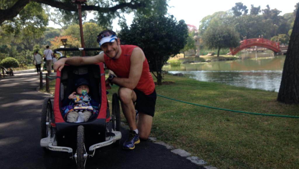 © Philippe Jacques Courir en famille - marathon en famille
