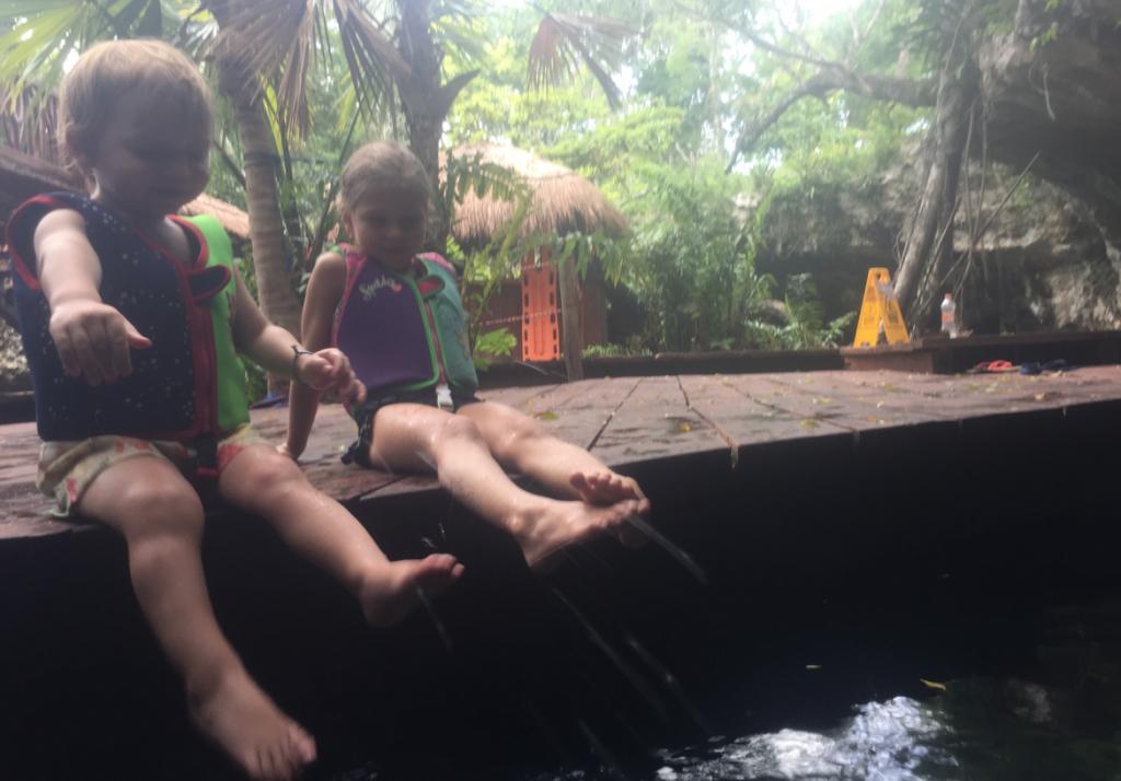 Cenote en famille ©BB Jetlag