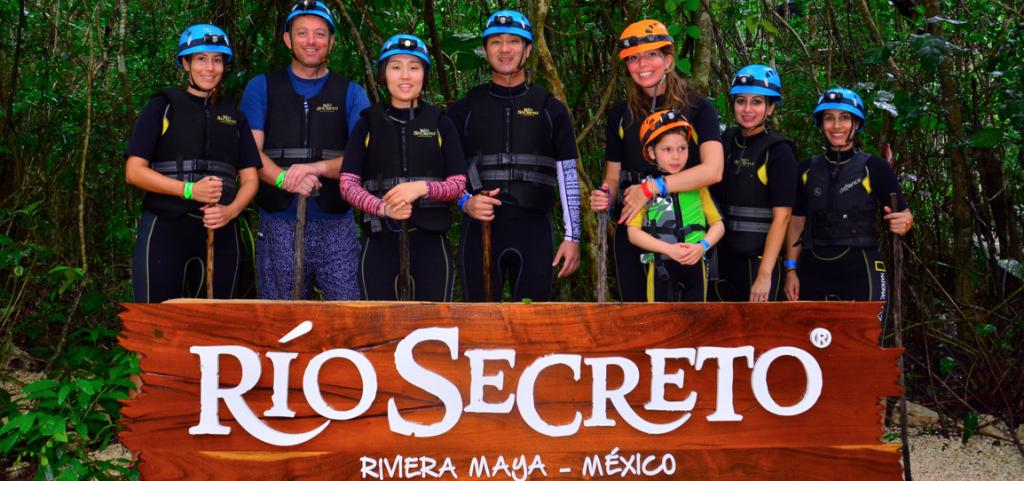 Rio Secreto Riviera Maya en famille