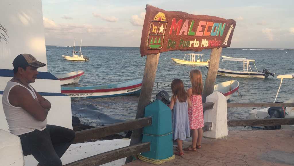 Plage de Puerto Morelos en famille Riviera Maya au Mexique