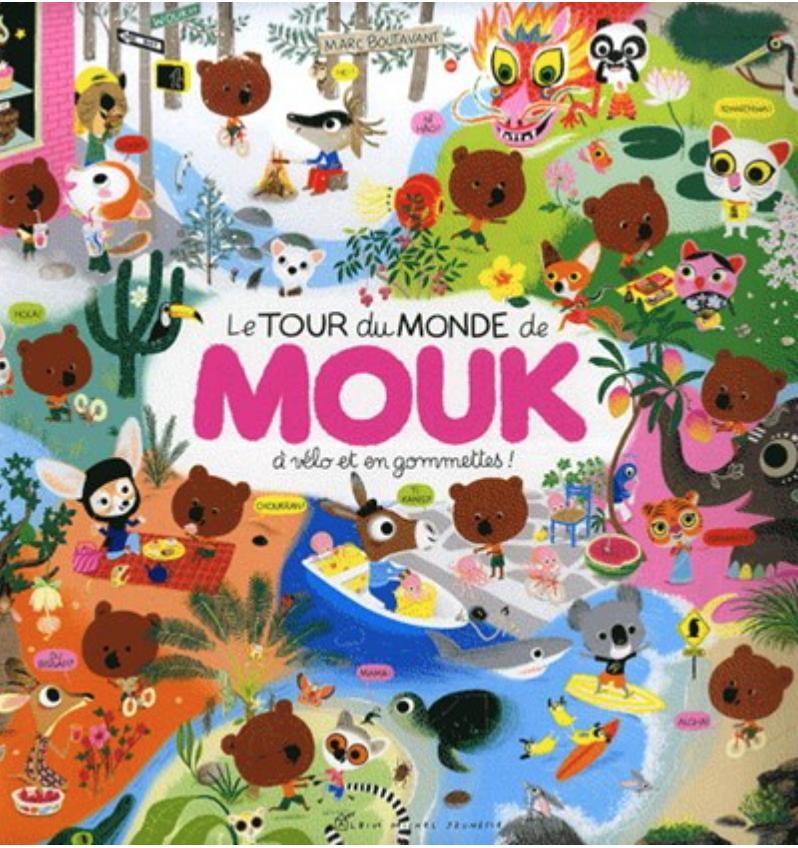 Le tour du monde de Mouk © Albin Michel - Jeunesse