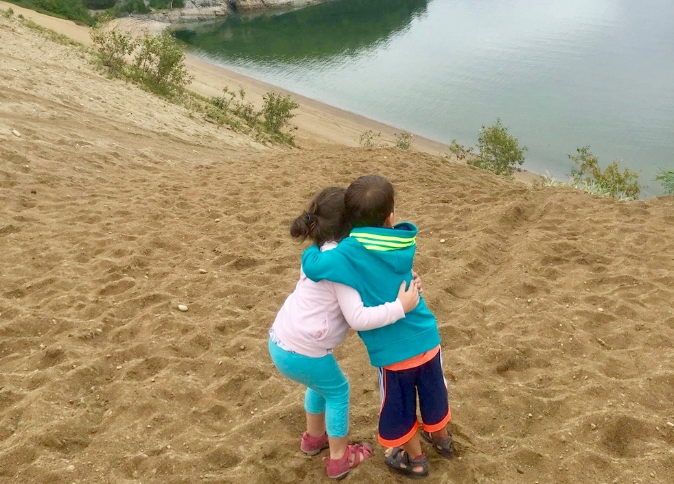 Dunes de sable Haute-Côte-Nord