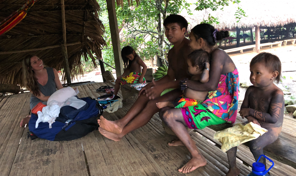 Carlos et sa famille, Embera Puru