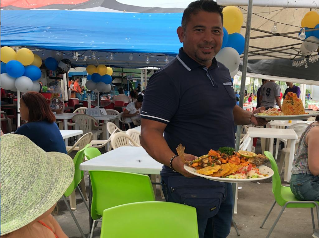 Marché de poissons Panama City