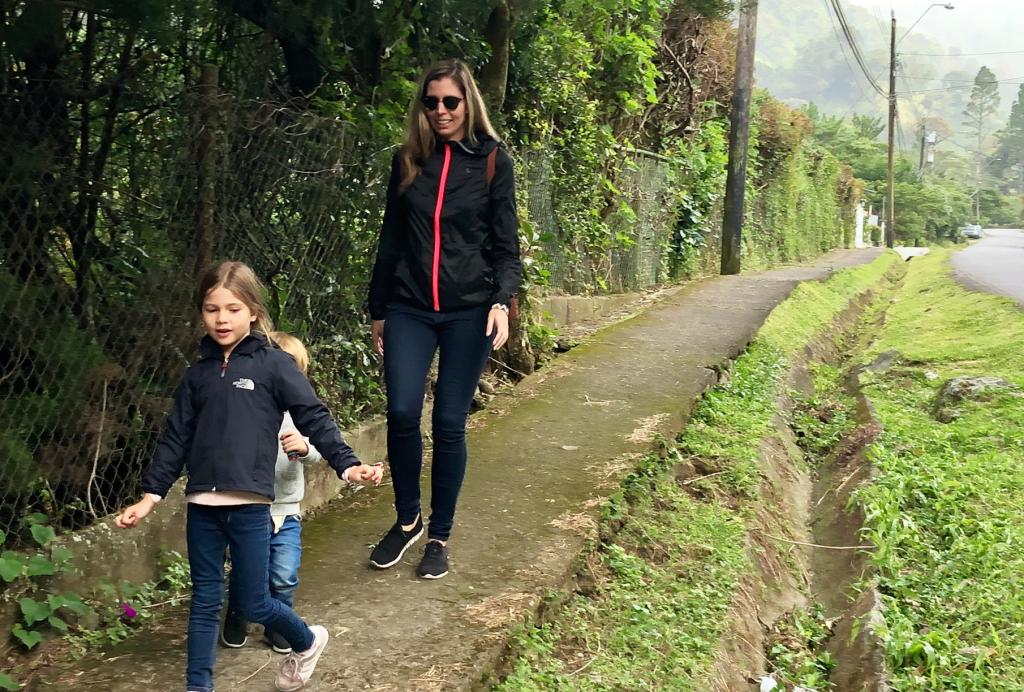Boquete au Panama en famille