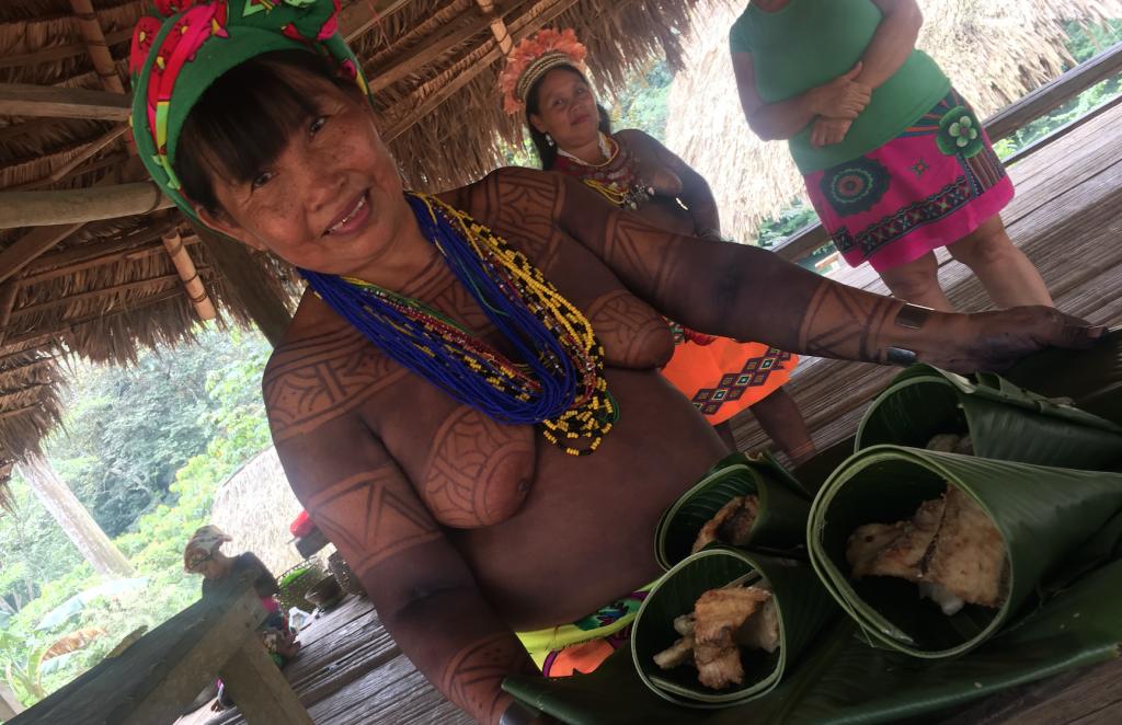 Embera Puru Panama en famille