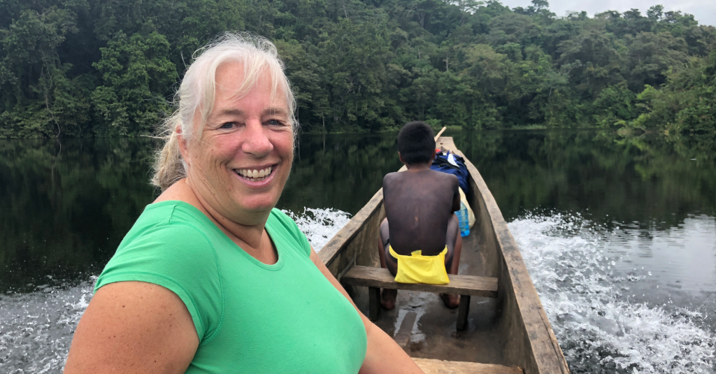 Anne Gordon, Embera Village Tour Panama