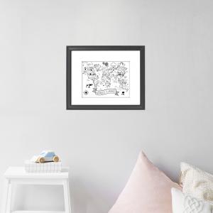 Illustration pour enfants voyageurs par Moose & Mona
