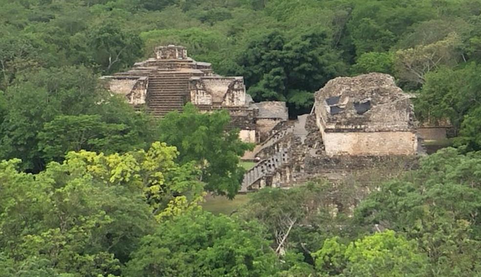 Le site archéologique d'Ek'Balam