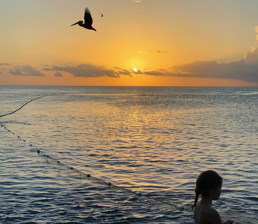 Martinique avec famille et enfant