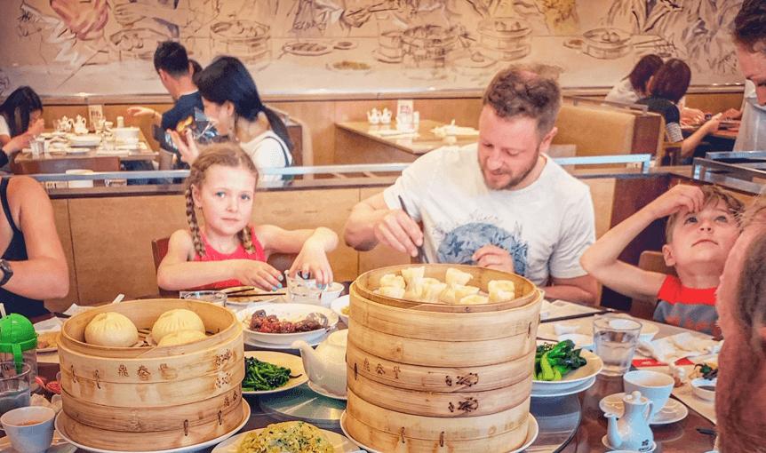 Shanghai avec bébé et enfants en famille