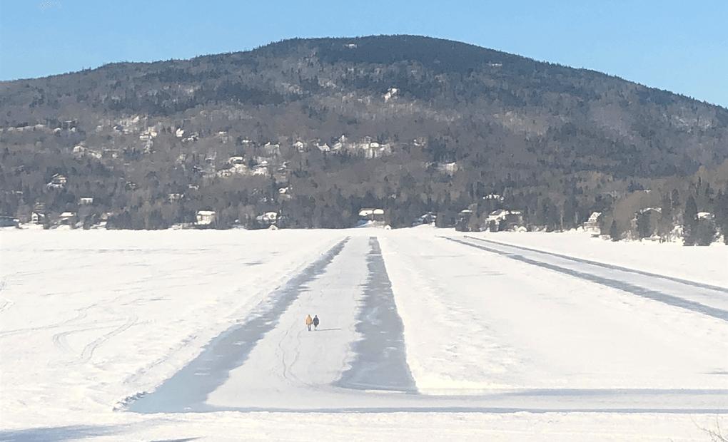 Entourage sur le-Lac Beauport Québec en famille avec enfants