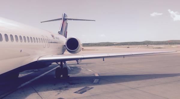 Siège d'auto en avion