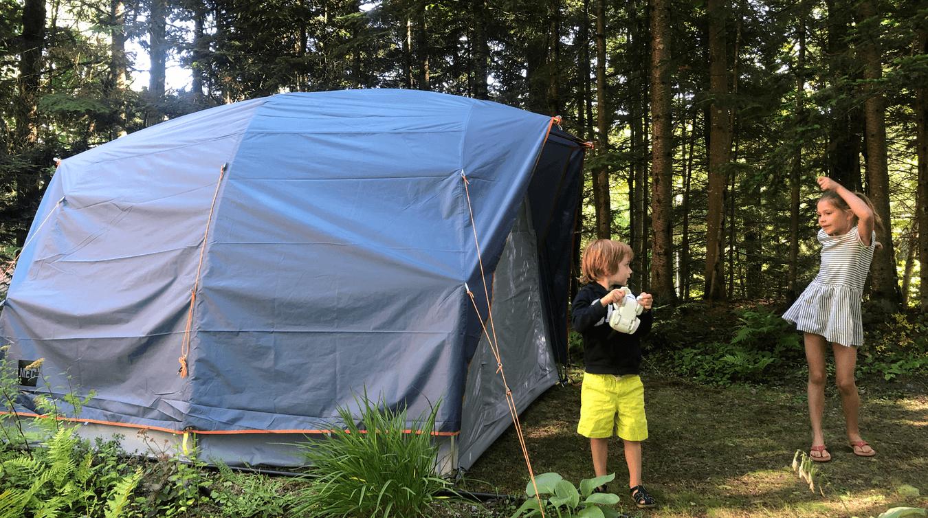 Tente Cabin 4 MEC