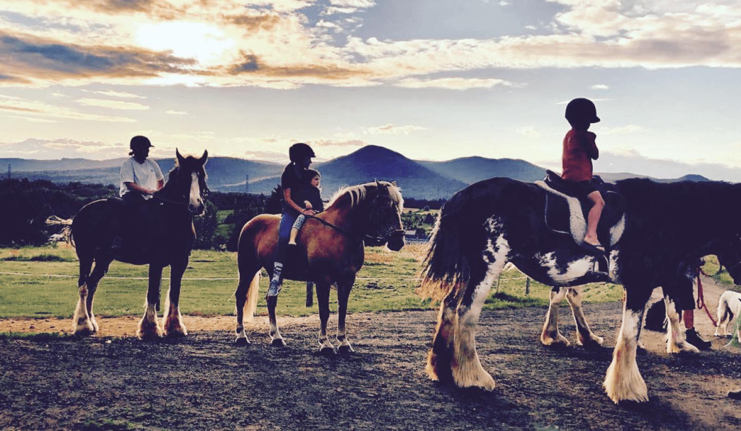 Équitation Charlevoix en famille Cheval et campagne