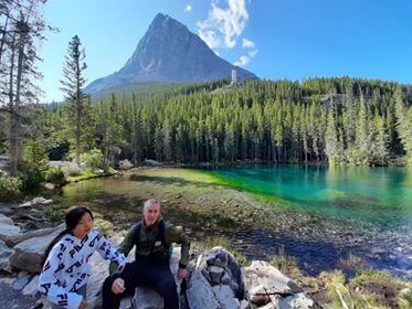 Grassi lake, Alberta