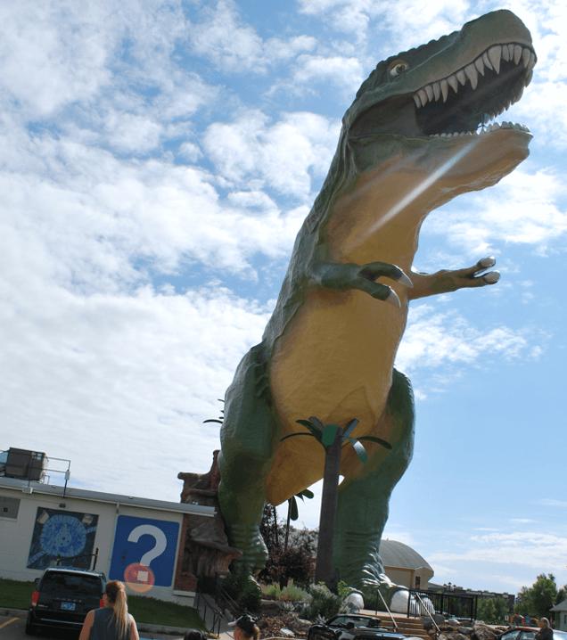 Horse Thief dinosaures Alberta