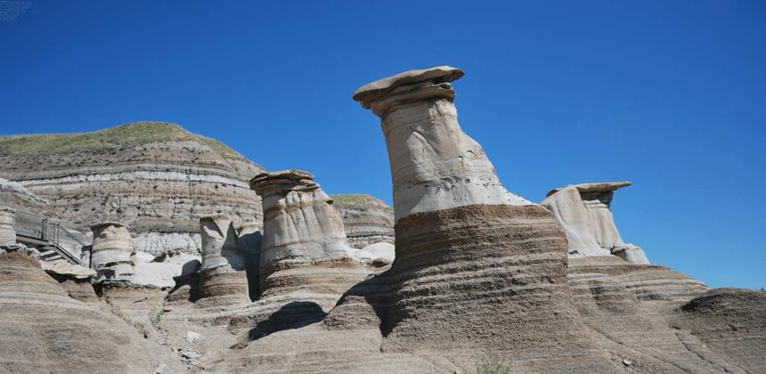 Hoodoos trail Alberta