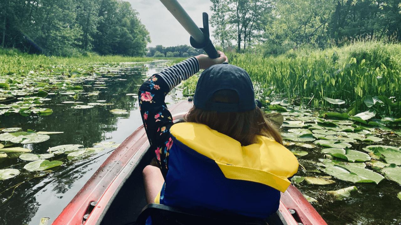 Kayak location activité en famille à Sorel