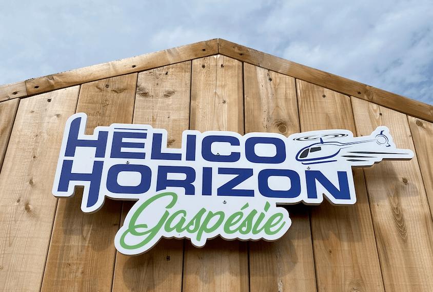 Helico Horizon Gaspesie Perce Helicoptere