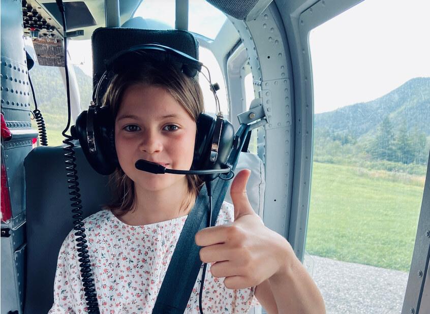 Helicoptere Perce Gaspesie